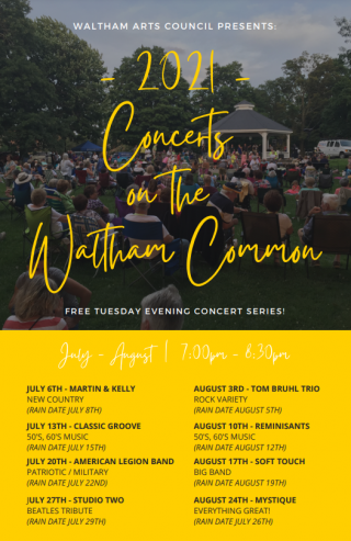Free Concert on the Waltham Common